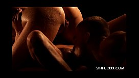 Most passionate threesome at...