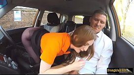 Zara Durose fucked by driving instructor