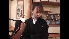 Subtitled mourning Japanese wife...