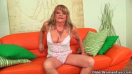 Grandmother with large breasts...