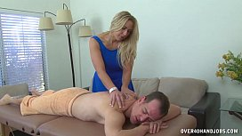 Dominant Milf Painful Handjob...