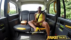 Fake Taxi Lovely ebony...