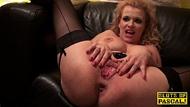 Analfucked brit skank fingered and facialized