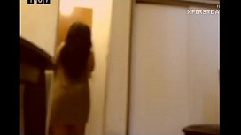 Camgirl gets Naked in front of delivery guy!