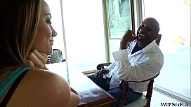 Chanel Preston goes Anal for big black cock