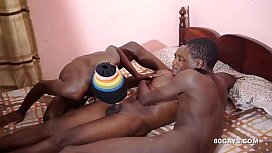3 Black African Twinks...