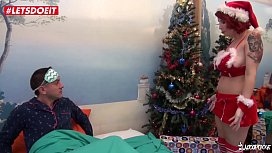 LETSDOEIT - French Wife Surprises Lover on Christmas Day