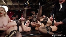 39582819: Slaves fucked and fisted at orgy bdsm