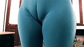 Enormous Cameltoe and Huge...