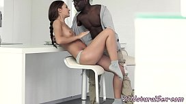 Amateur euro loves interracial...