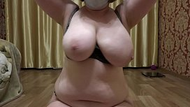 Mature milf with big...