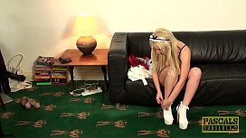Submissive UK teen pussy...