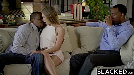 BLACKED First Interracial Threesome...