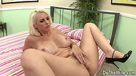 26819895: Blonde wife takes huge cock