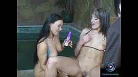 Lovely lesbians having fun...