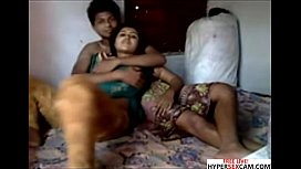Bangla deshi Hot Couple Homemade Fucking on webcam xnxx image