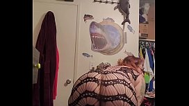 Mommy bent over