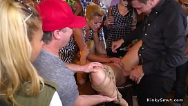 Serbian submissive slave fucked...