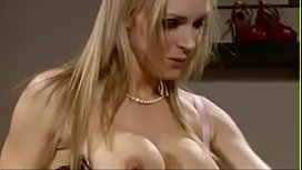 Hot blonde MILF fucked...