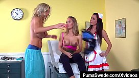 Lets Play Doctor Puma Swede Jessica Jaymes &amp_ Nicole Aniston!