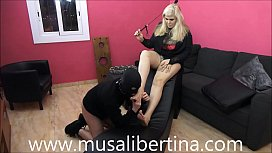 FemDom Games: footjob and...