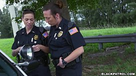 Female cops pull over...