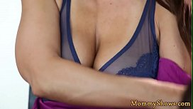 Classy milf sixtynines her stepdaughter
