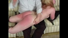 Three models spanked xxx video