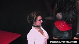 Caged Cougar Deauxma Punished...
