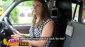 Female Fake Taxi Horny...