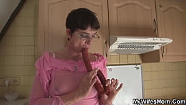 Hairy mom inlaw begging for taboo fuck