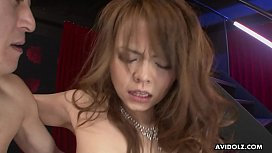 Japanese amateur babe, Saki likes to get fucked hard, uncensored