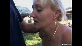 Granny gets fucked in...