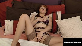 FireCrotch Fox Penny Pax Gets Cock In Mouth &amp_ Tight Pussy!