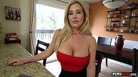 Huge boobs stepmom took r. on dad by fucking me