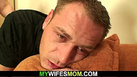 Cheating sex with chubby-faced mother in law