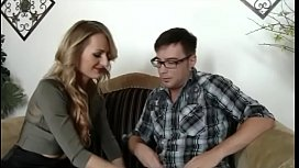 Stepmom gets closer to stepson - watch more on noshygirls.com