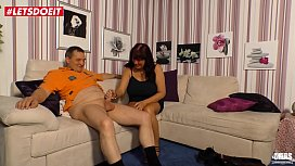 LETSDOEIT - German Mature Milf Fucked Hard By Younger Stud