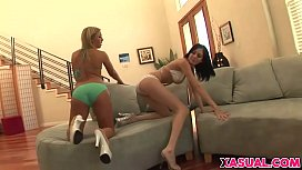 Teens Ally Kay And...