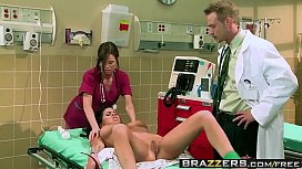 Brazzers - Doctor Adventures -  The Flatline Asshole scene starring Brandy Aniston and Bill Bailey
