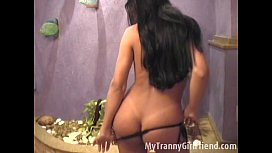 Patricia Mark stripping for...