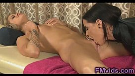 Amazing lesbian sex with...