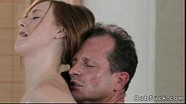 Pale redhead fucked by...
