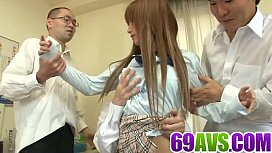 Japanese schoolgirl needs cock...