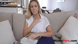 Son blackmails mommy for...