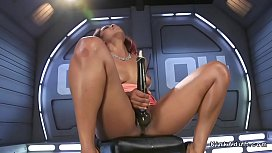 Ebony squirting and fucking...