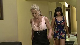 Melissa May wants to know the relationship! - GirlfriendsFilms