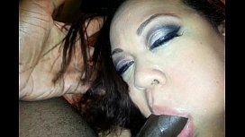 Chubby Stepmom does the...