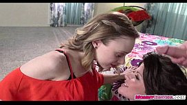 Mature mom and young d. share cock 10