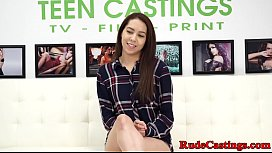 Casting teen bound and...